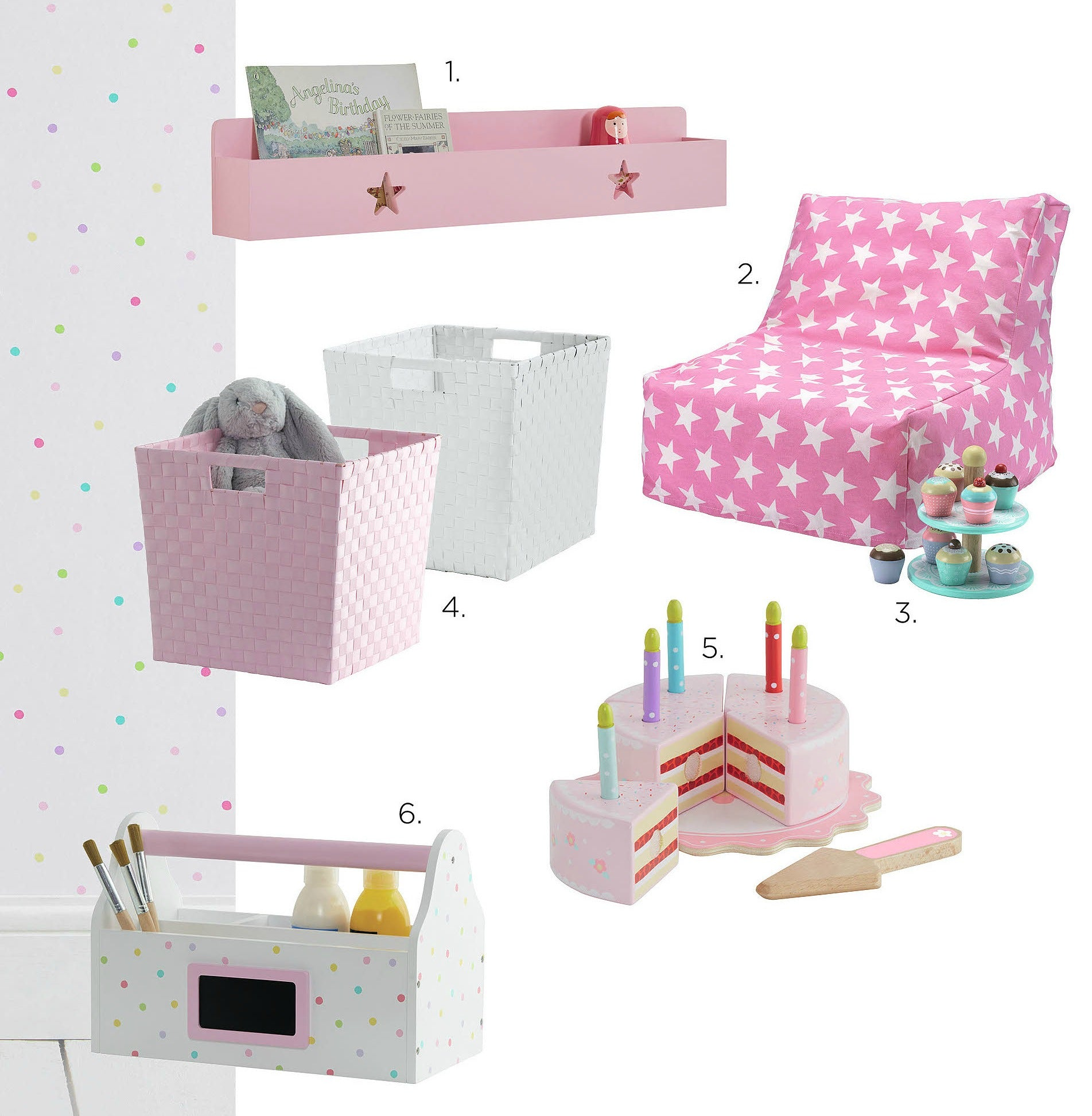 Room Inspiration: The Confetti Spot Collection