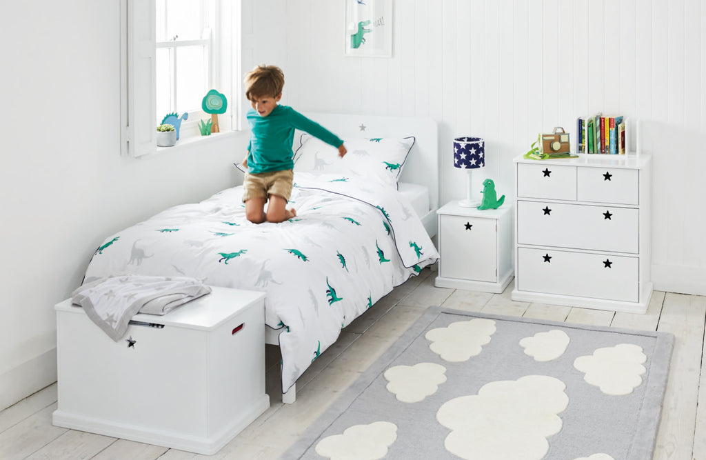 Dino Star Bright Bedroom