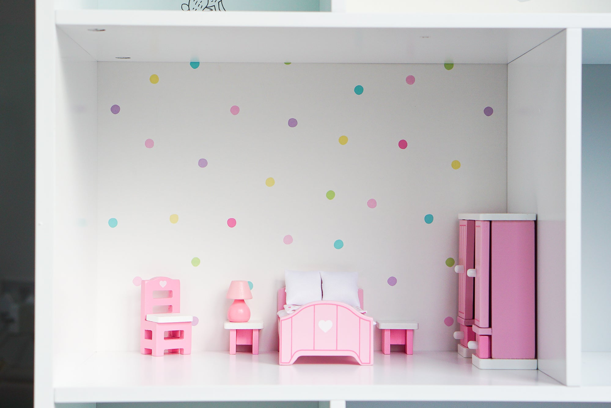 Transform our Townhouse Bookcase into a beautiful dolls' house