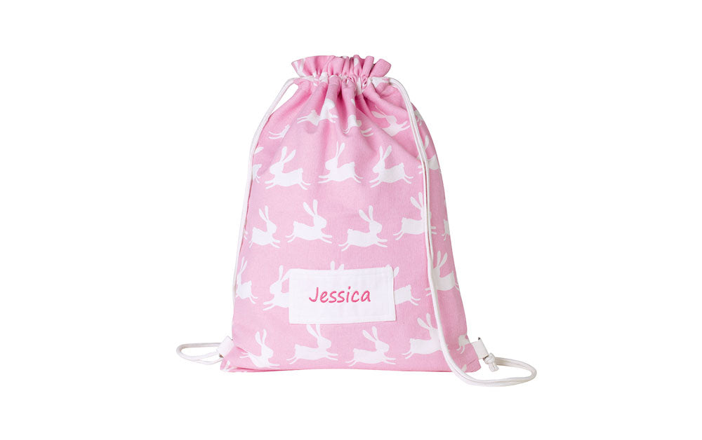Personalised bunny swim bag