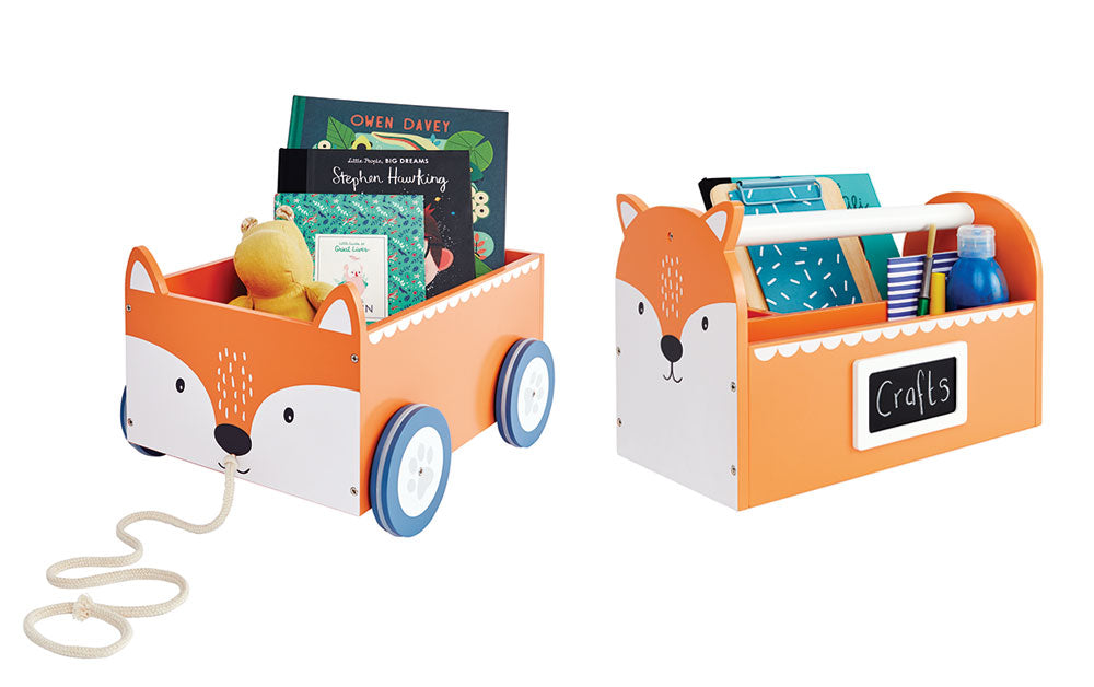 Fox book cart and carry caddy
