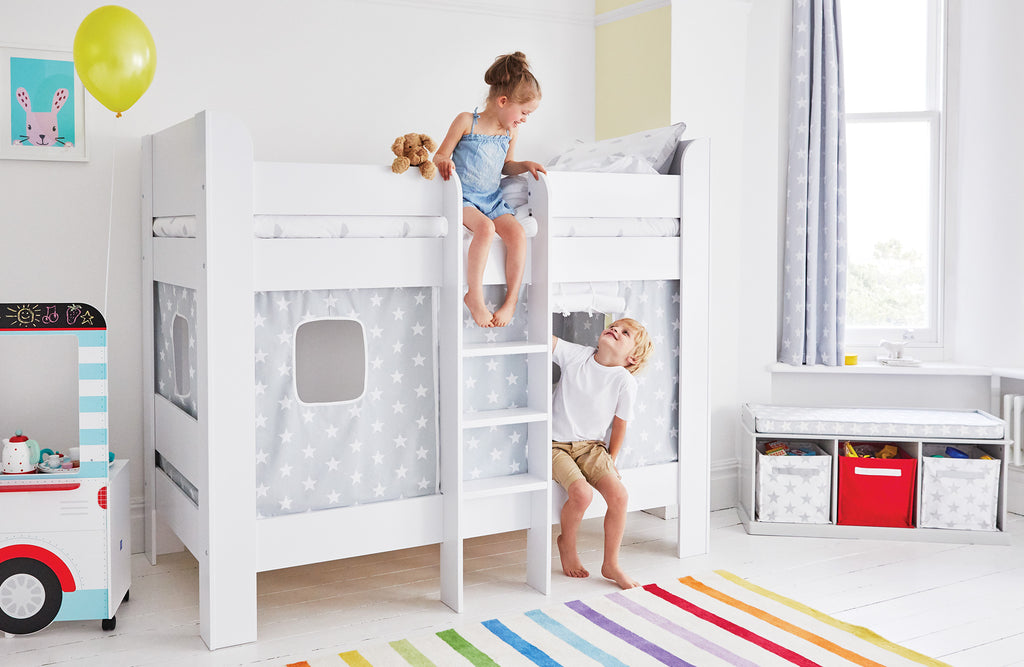 Grey star Paddington Bunk bed