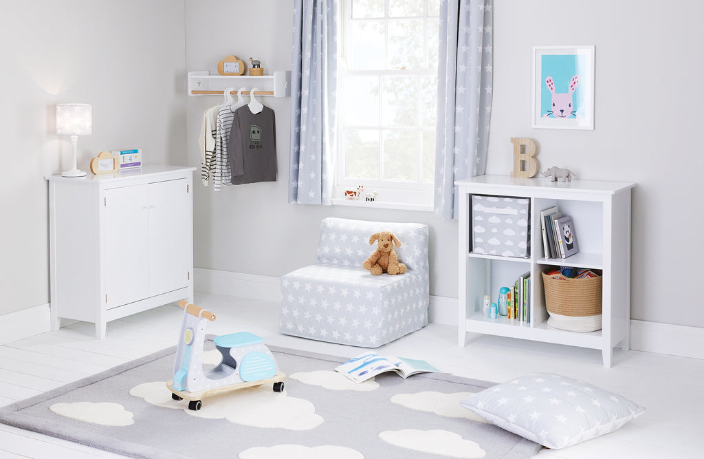 Grey Star Playroom with Cloud and Bramley Accessories