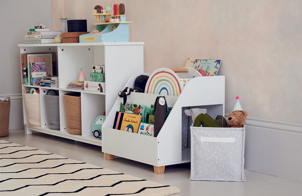 Gulliver and Blake shared space storage solutions