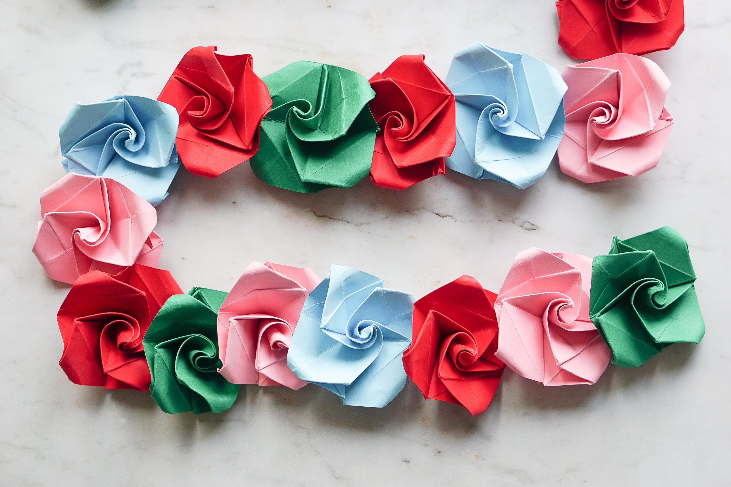 Get Crafty: In The Garden Origami Bunting