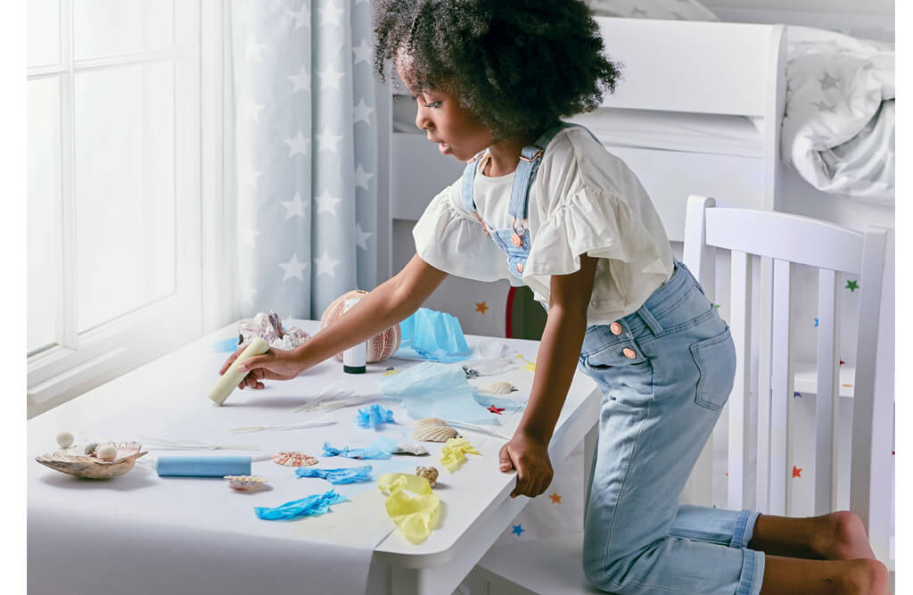 Growing Activity Table for children