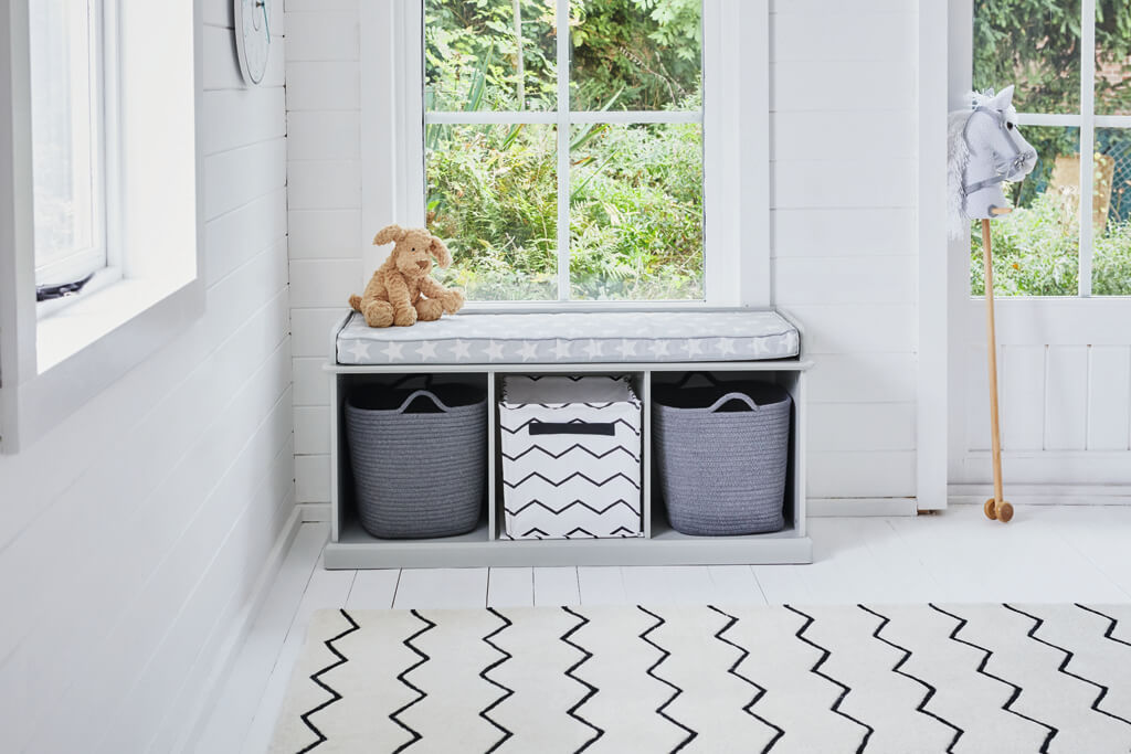 Zigzag Rug in Abbeville playroom
