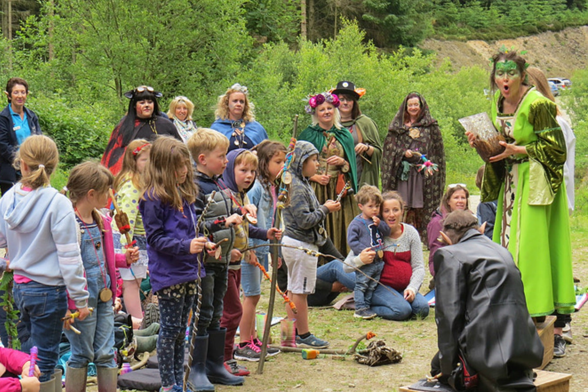 Real Life: Storytelling, Sustainability And Outdoor Crafts At MythFest