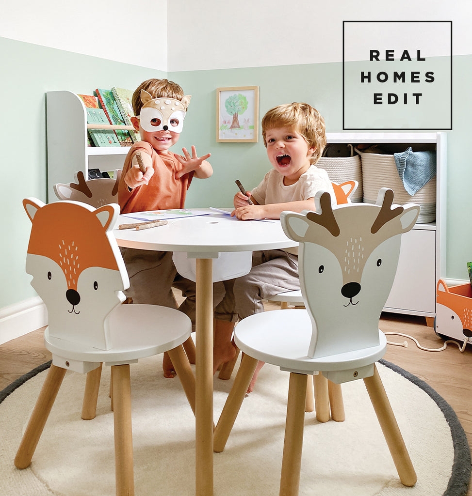 Woodland toddler table and chairs