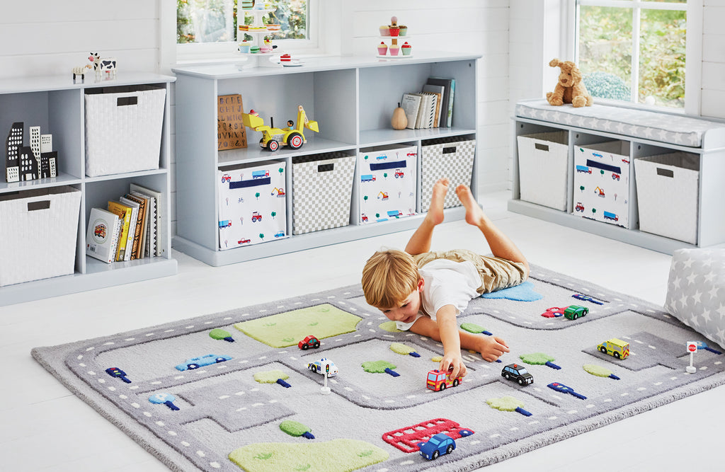On The Road abbeville cube storage playroom