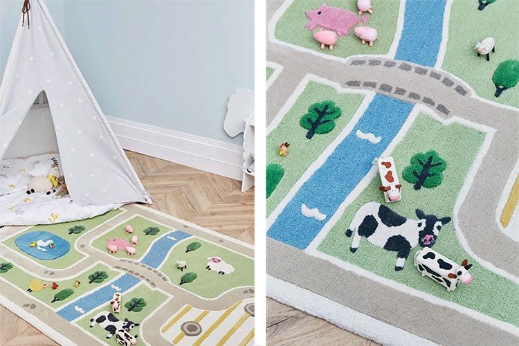 Create a farmyard inspired children's bedroom with the On The Farm range