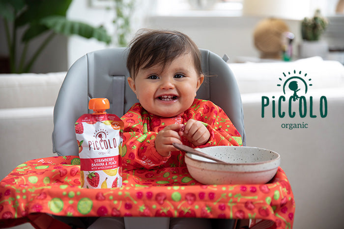 Piccolo's baby led weaning ideas