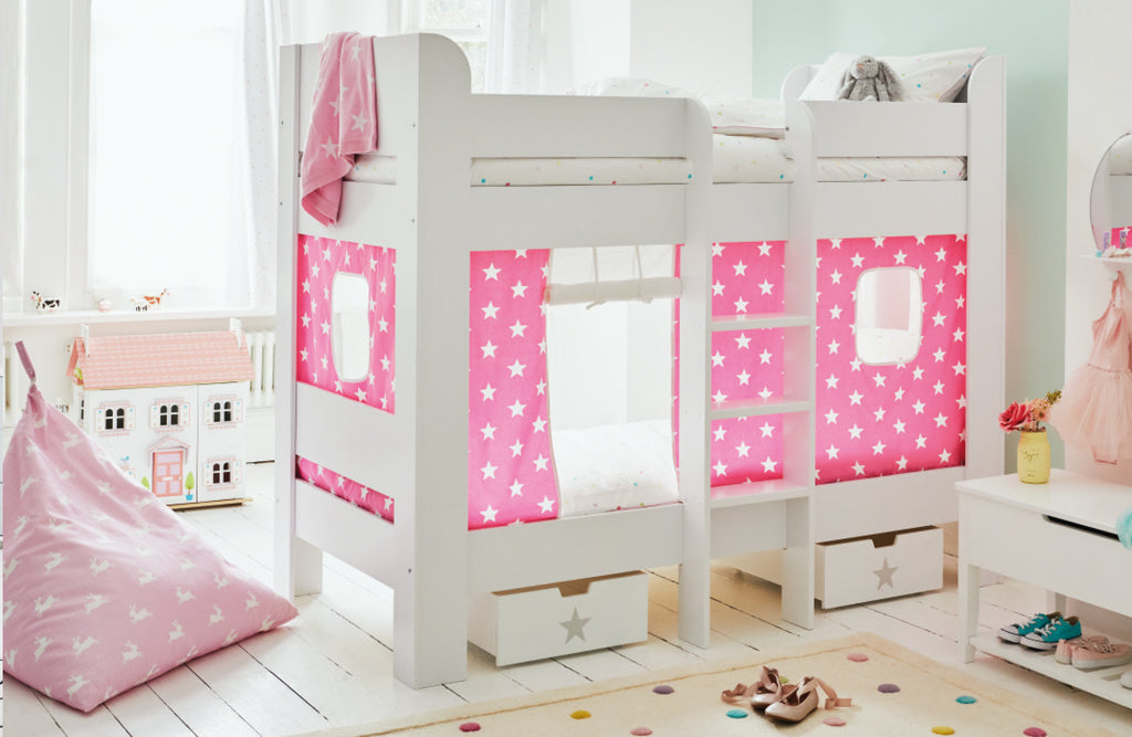 Pink Star Paddington Bunk Bedroom