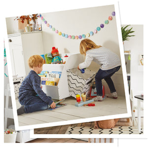 white gulliver toy storage