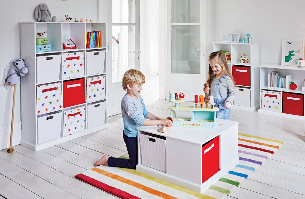 Rainbow Star Playroom