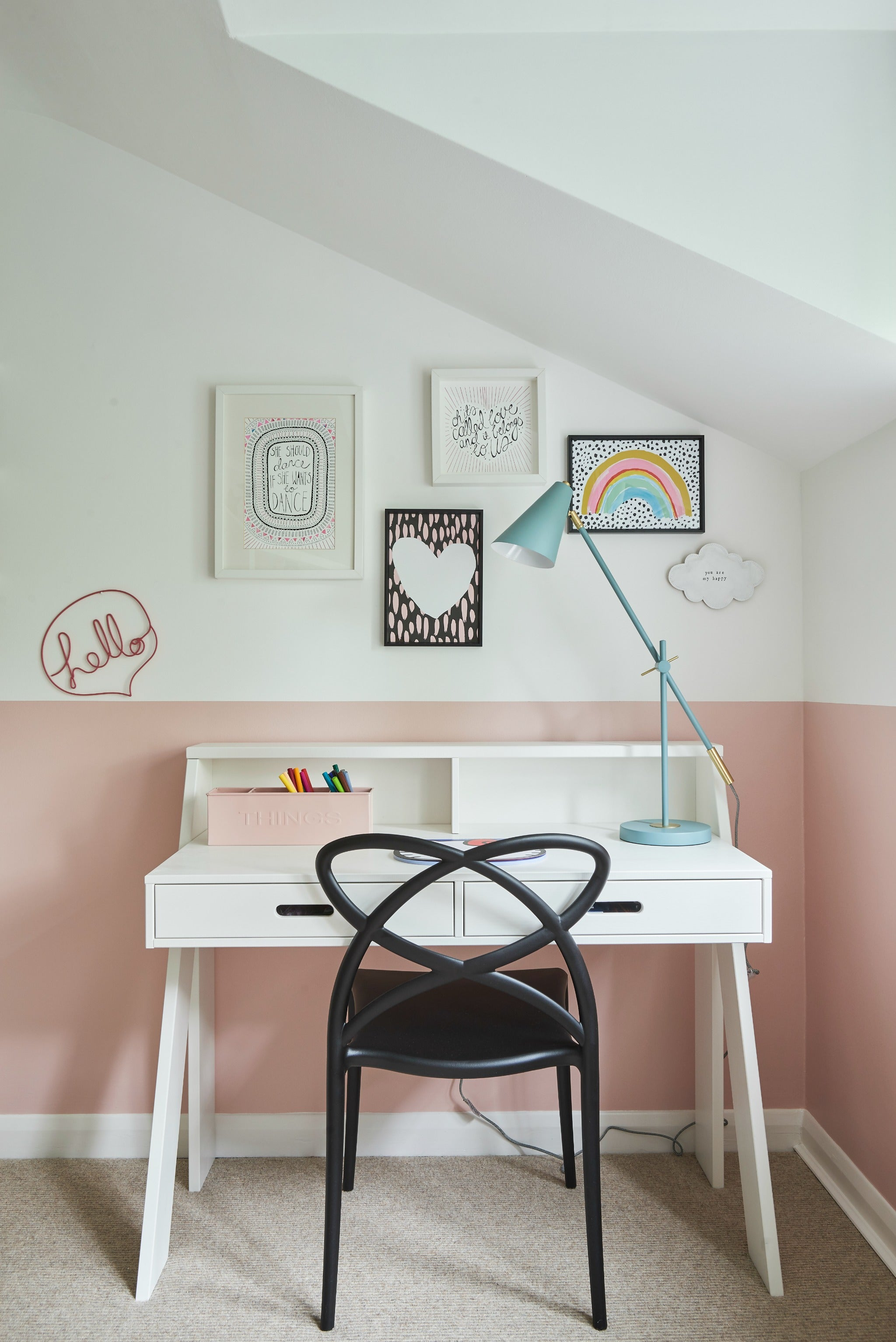 Real Room: A Perfectly Pink Little Girl's Room