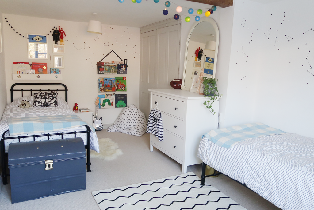 Real Rooms A Shared Bedroom For Twin Boys Great Little Trading Co