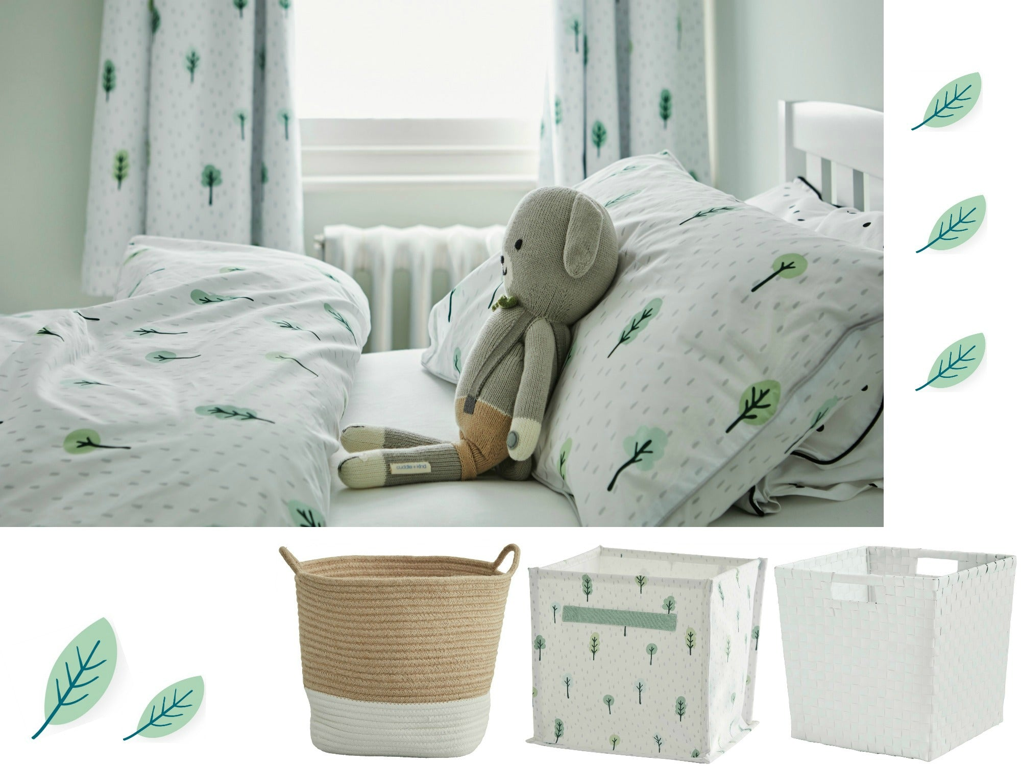 Room Accessories: Snuggly Bedding And Stylish Storage