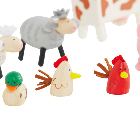 Wooden Farm Animals | Great Little Trading Co