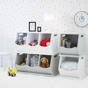 Triple Stacking Storage Trunk, Bright White