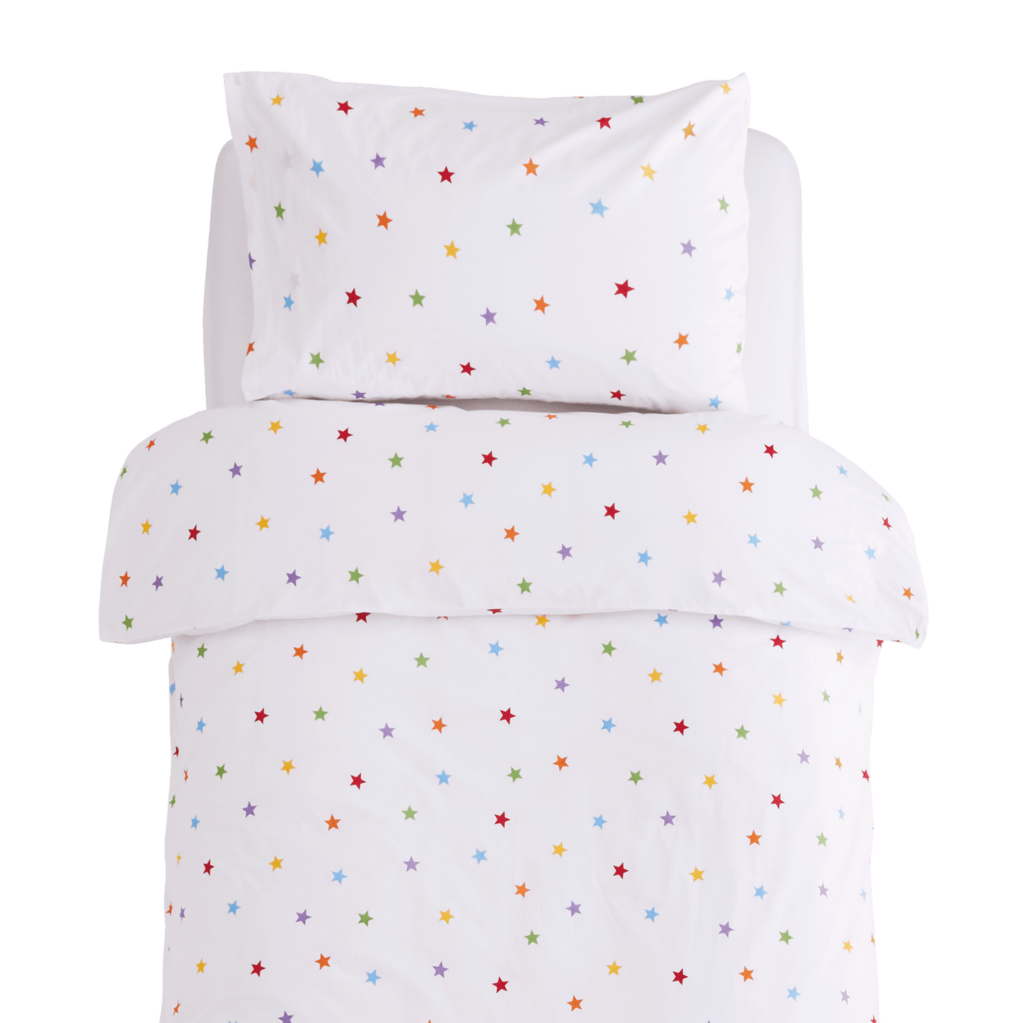 Rainbow Stardust Duvet Cover Set - Single