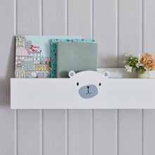 White book ledge, Mr bear design