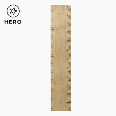 Wooden Height Chart, Ruler