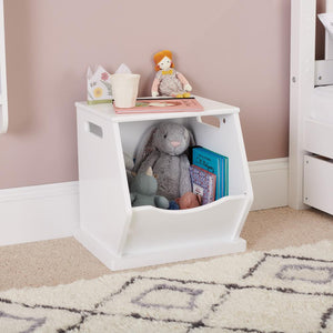 Single Stacking Storage Trunk, Bright White