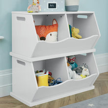 Double Stacking Storage Trunk, Bright White