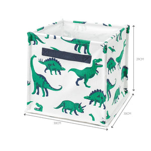 Canvas Storage Cube, Dinosaur