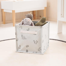 Canvas Storage Cube, Woodland Animals by Ryn Frank