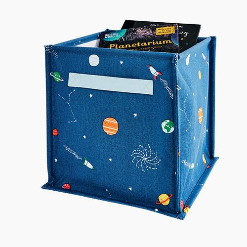 Canvas Storage Cube, Space Explorer