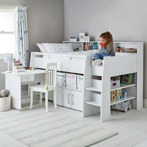 Picture of: Reece Cabin Bed Kids Cabin Bed With Desk Great Little Trading Co