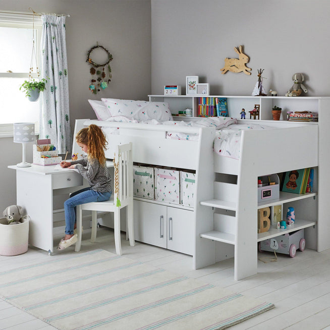 Reece Cabin Bed Home > Furniture > Cabin & Mid Sleeper Beds PARISOT