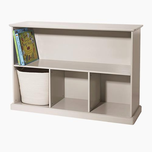 Abbeville Storage Shelf Unit, Stone