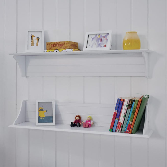 Any Which Way Book Shelf, White