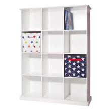 Abbeville Twelve Cube Storage, White