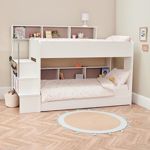 Harbour Storage Bunk Bed, White.