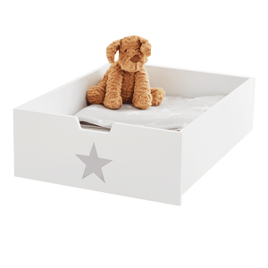 Underbed Storage Drawer, Grey Star