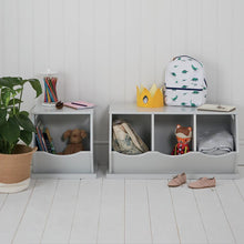 Single Stacking Storage Trunk, Cloud Grey