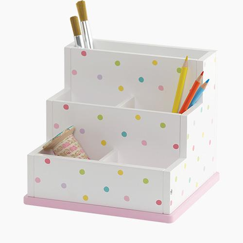 Children's Desk Tidy, Confetti Spot.