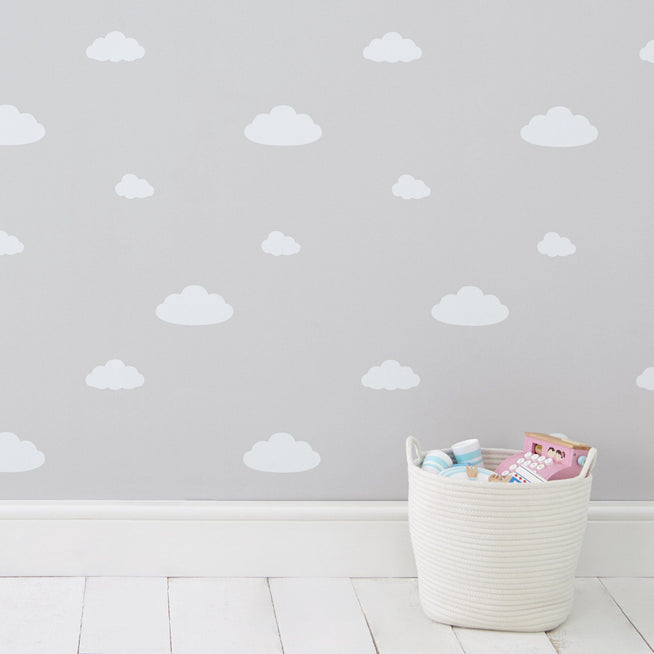 Children's Wallpaper, Clouds.