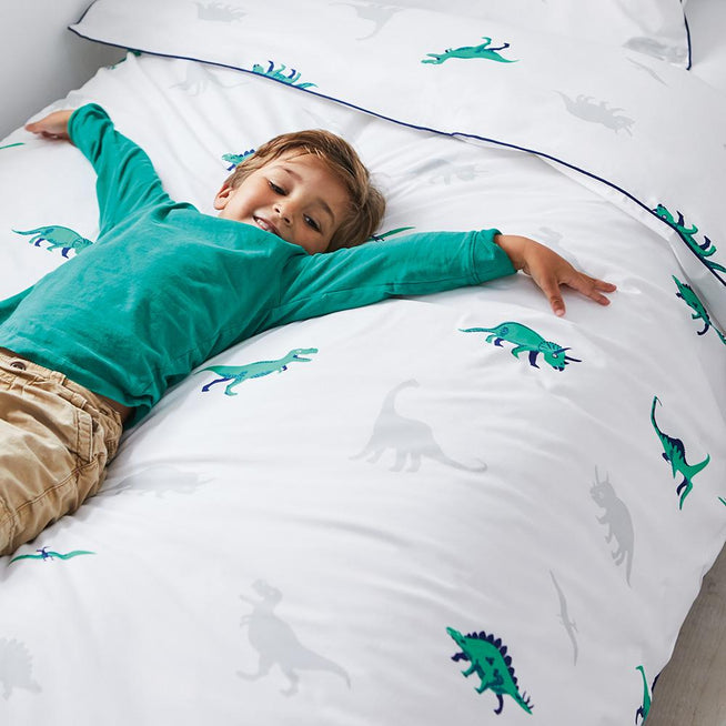 Dinosaur Duvet Cover Set - Single Home > Accessories > Childrens Bedding G.L.T.C Limited