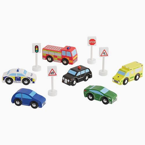 Wooden Cars & Vehicles (Set of 6) Home > Toys > Wooden Toys GLTC