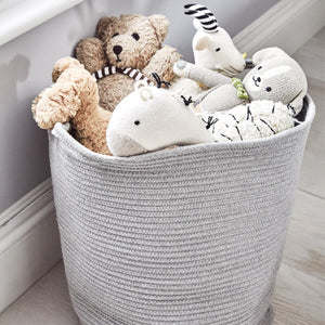 Rope Storage Tub, Grey
