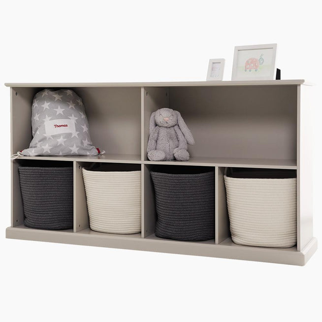 Abbeville Long Shelf Unit, Stone Home > Storage > Cube Storage GLTC
