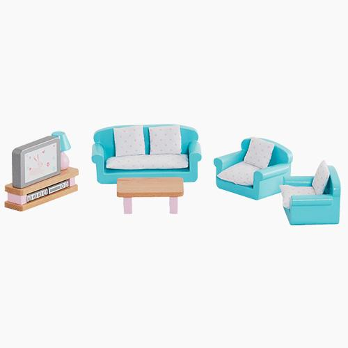 Dolls House Furniture - Living Room Home > Toys > Dolls House Range G.L.T.C Limited