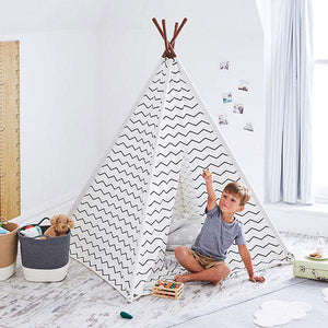 Square Teepee, Zigzag Home > Toys > Teepees & Play Tents G.L.T.C Limited