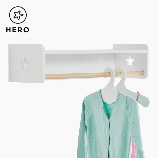 Tomorrow's Clothes Rail.