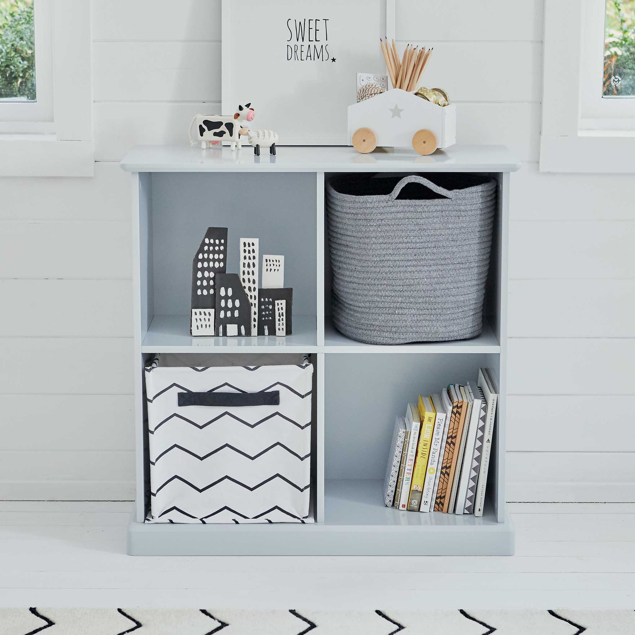 Image of Abbeville Four Cube Storage, Cloud Grey